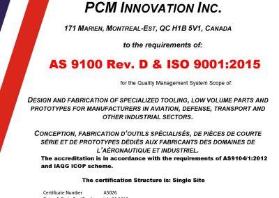 A5026-PCM-Innovation-Rev.NC-AS9100-2018