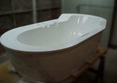 Prototype de bain en composites