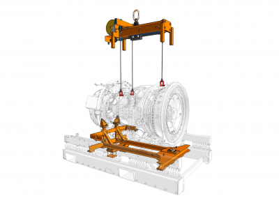 Transport adaptor stand and lifter