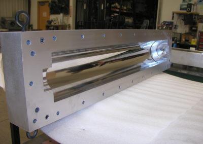 Complex machined parts