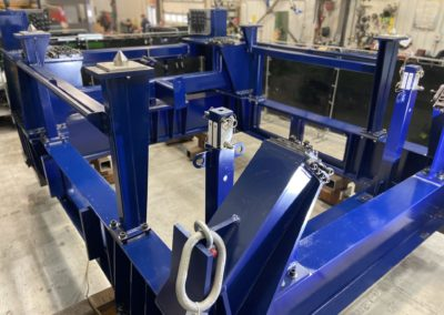 Assembly lines for aerostructures